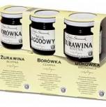 Zestaw - 3x200 g (żurawina, borówka, jagoda)