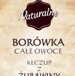 Promocja Borówka całe owoce + Keczup z Żurawiny